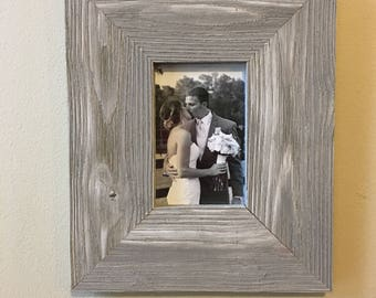 4x6 Barn Wood Picture Frame