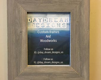8x10 Barn Wood Picture Frame