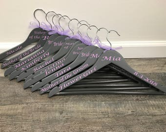 Personalized Wedding Hangers