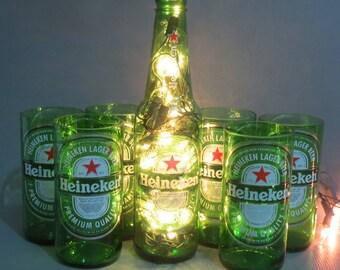 Kit Heineken - Cups and Heineken Luminary