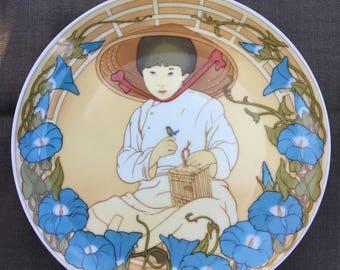 Children of the world, verzamelaarsbordje van Unicef. Deel 2. In perfect Vintage kwaliteit. Heinrich porselein, Villeroy &Bosch.