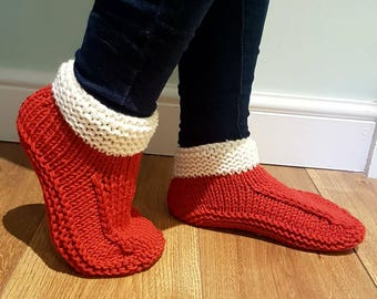 09fca1273f632 Knit dorm boots | Etsy