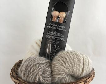 """Crystal Palace Bamboo Knitting Needles - Size 13 (9mm, UK 00)  - 9"""""""