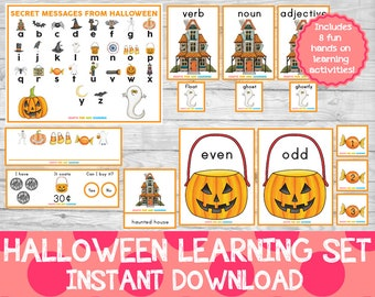 Halloween Learning Set, Halloween Learning Pack