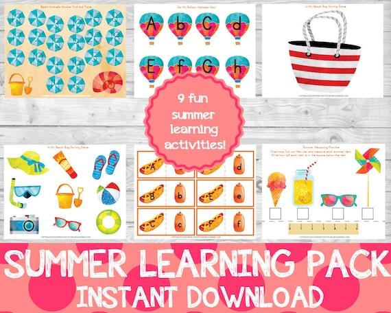 Summer Learning Pack Preschool Pack Summer Learning Summer