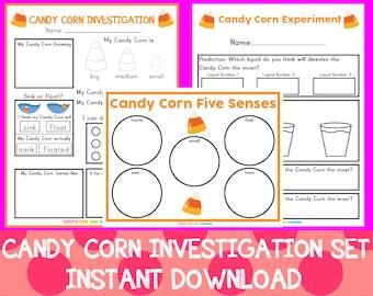 Candy Corn Investigation Set