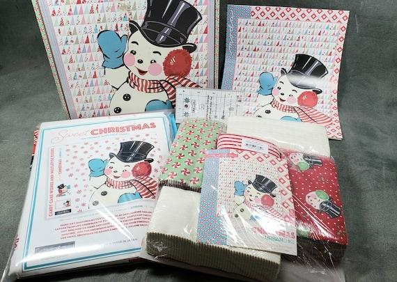 From Urban Chicks For Moda - Sweet Christmas Quilt Kit KIT31150 - 139.50 Dollars