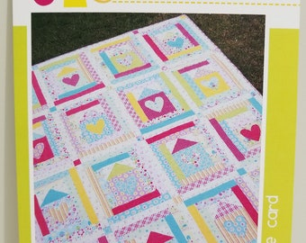 Melly and Me Where the Heart Is new craft quilt pattern #MM710