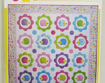 Melly and Me HAPPY HEDGEHOGS Quilt new craft pattern #MM137