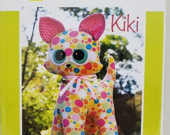 Melly and Me KIKI Kitty Cat new craft pattern #MM122
