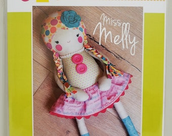 Melly and Me MISS MELLY new craft pattern #MM121