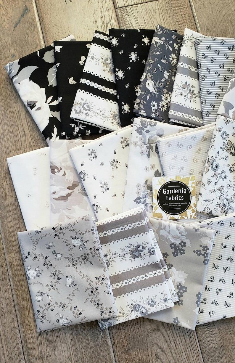 SERENITY Riley Blake Designs 21 Fat Quarter Bundle new cotton quilting fabric Gerri Robinson