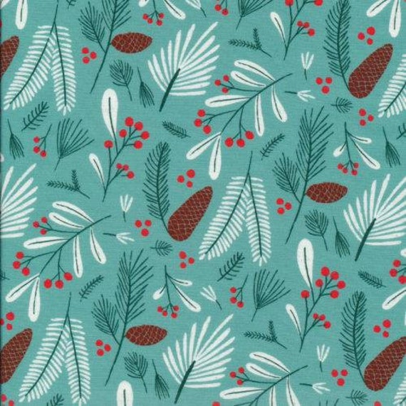 quilting fabric Christmas fabric Cloud 9 fabric organic cotton ready to ship