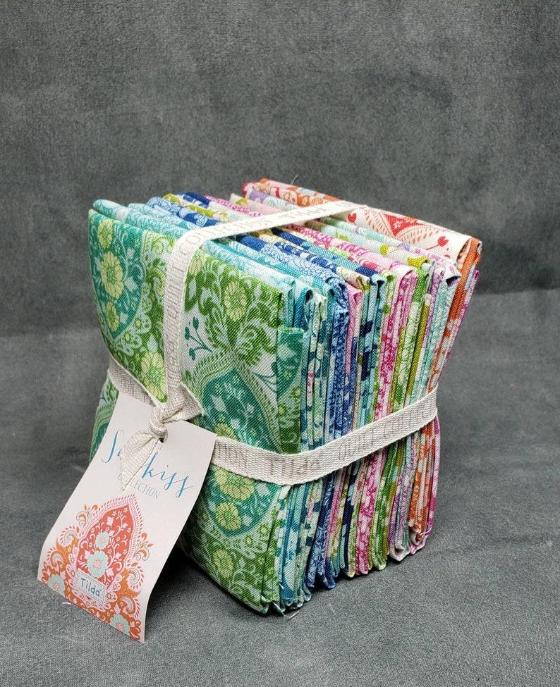Tilda SUNKISS 20 Fat Eighth fabric bundle Tone Finnager