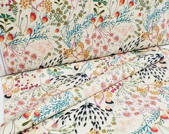 INDIE FOLK - Meadow Vivid Floral - Pat Bravo for Art Gallery Fabrics - cotton quilting fabric - IFL-56302