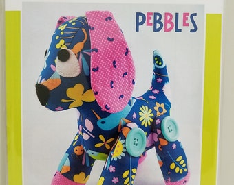 Melly and Me PEBBLES puppy dog new craft pattern #MM138