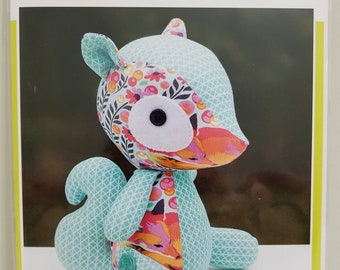 Melly and Me SAMMIE Squirrel new craft pattern #MM152