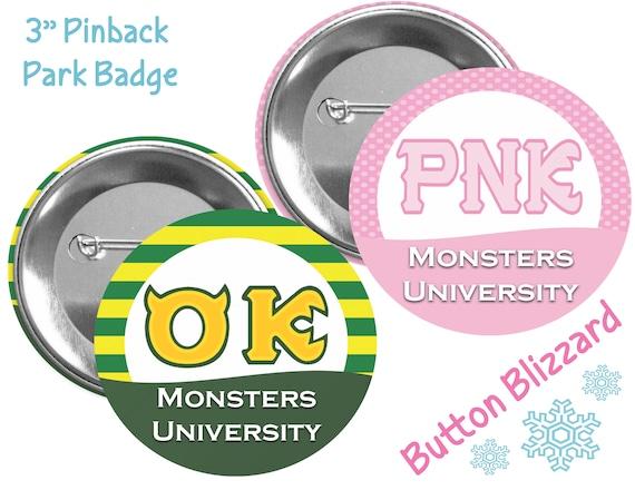 Oozma Kappa And Python Nu Kappa Pin Monsters University Etsy