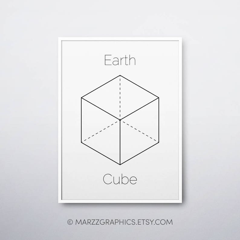 photo relating to Printable Cube referred to as Dice Printable, Dice Print, Sacred Geometry Artwork, Geometric Print, Platonic Solids, Dice, Ground breaking Dwelling Decor, Dice Artwork Print, Immediate Obtain