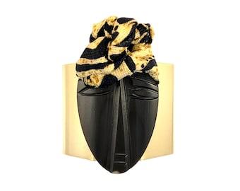 Solid-Brass Cuff Bracelet: Gifts for Her, Handmade Jewelry, Unique Jewelry, African Jewelry, Boho Jewelry, Bracelets for Women, Wearable Art