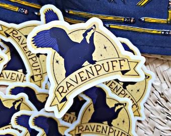 Ravenpuff Sticker / Laptop Decal