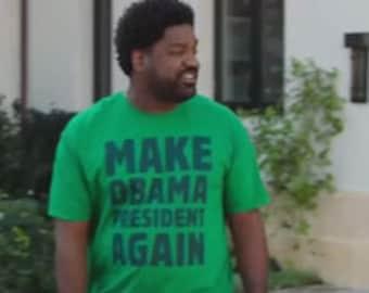 fec19dc8c50 Make Obama President again tshirt