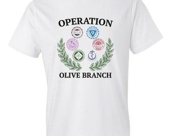 Atlanta University Center Operation Olive Branch Replica T-shirt
