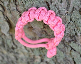 Paracord Braclet (in Girl Power Pink)