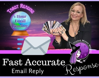 Fast 1 Hour Psychic Reading   Same Day One Hour One Question Tarot Reading