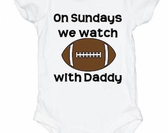 Football Onesie, Baby, Pajamas, Onesie, Football