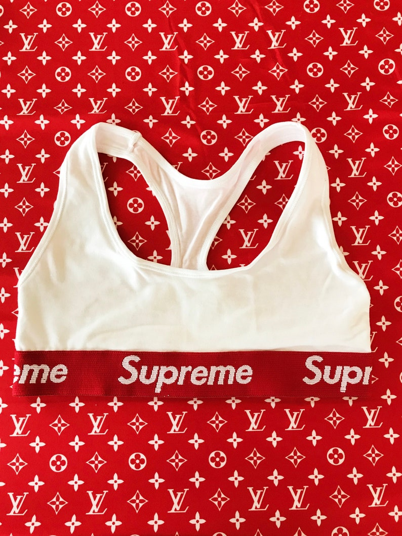 a89cf9f7c48d7 Reworked Supreme Bra White