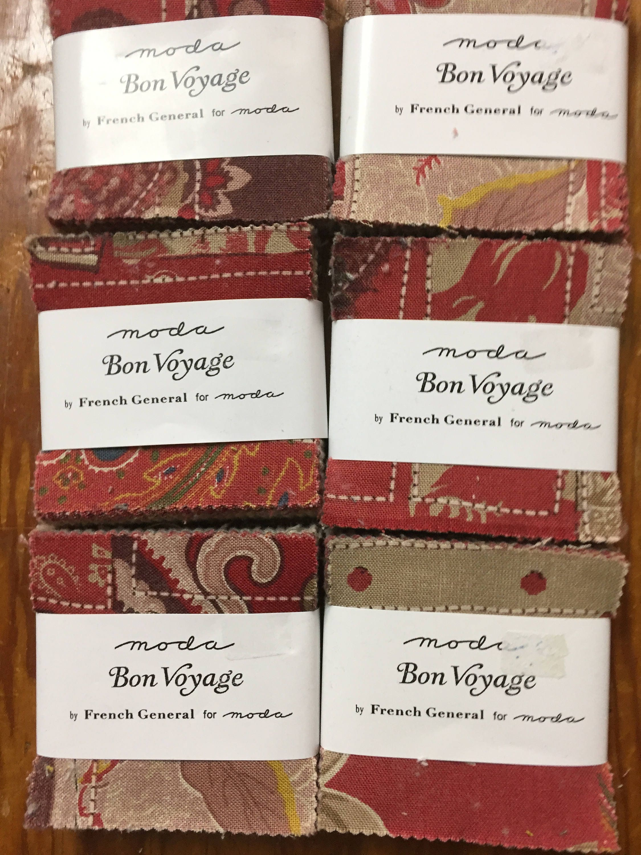 Bon Voyage mini charm pack   Etsy