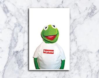 22x30 Print Supreme X Mike Tyson Urban Street Poster Etsy