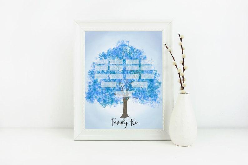 Family Tree Printable   Family Tree   Family History   Genealogy   LDS Art    LDS   Mormon