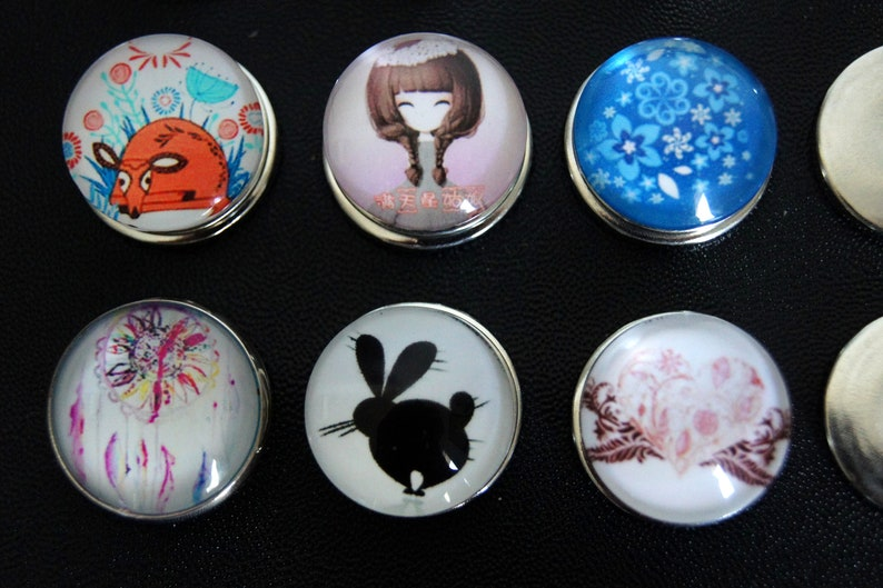 Clicks snap chunk set of 6 batch number 2 snap buttons image 0