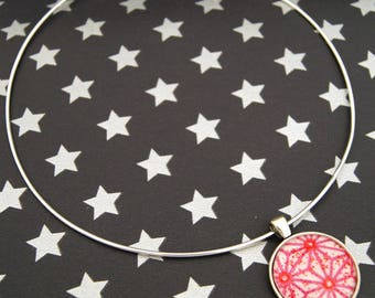 GALAXY STAR PINK - CO017 ASANOHA CHOKER NECKLACE