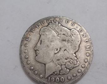 1900 o Morgan Dollar