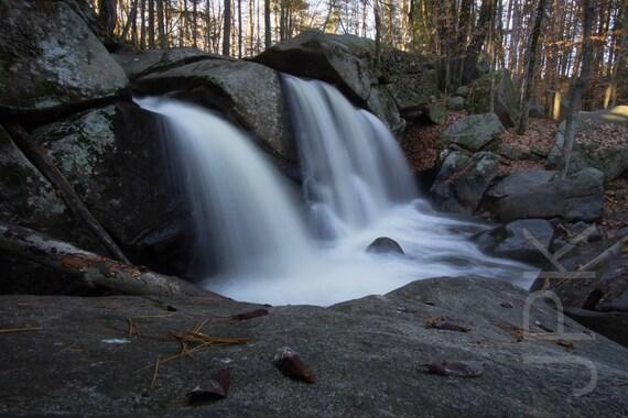 Trap Falls, Willard Brook State Forest, Ashby, Massachusetts