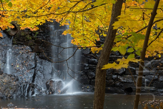 Puffers Pond dam, Amherst, Western Massachusetts