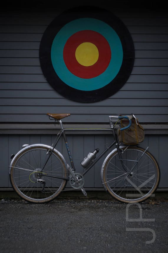 Vintage bikes always hit the target, Western Massachusetts