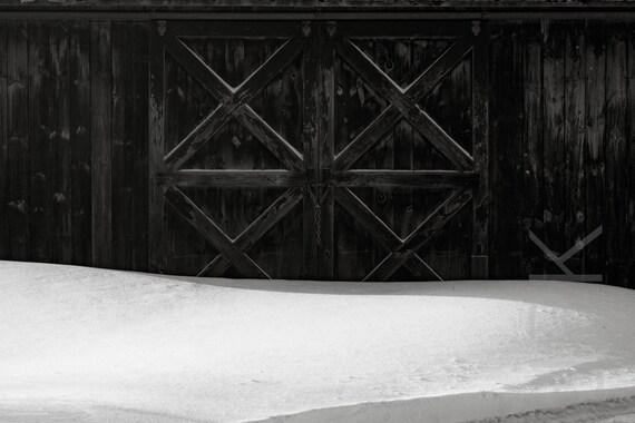 January Barn Doors, Western Massachusetts