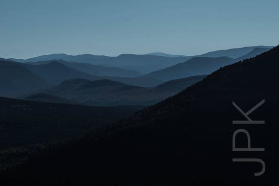 White Mountains from Crawford Notch, New Hampshire