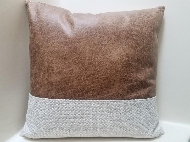 Mudcloth Pillow Covers. Faux Leather Pillow Covers. Color Block Pillows.  Rustic Pillow Covers. Country Farmhouse Home Decor. Lumbar Pillows