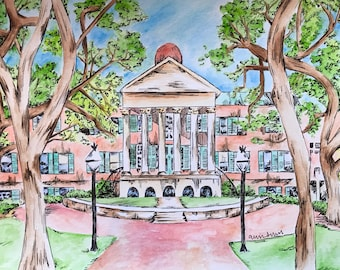 College of Charleston Print