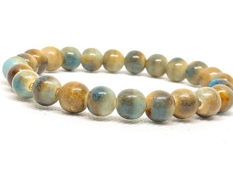 Ceramic Earth Tone Bracelet