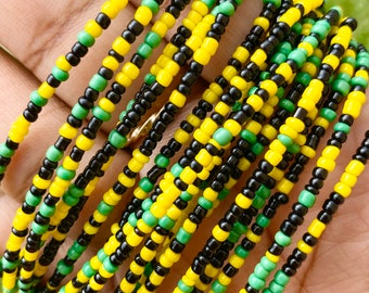 Jamaica Traditional Screw On Waist Beads