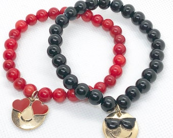 Emojis Stretch Bracelet