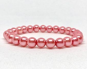 Light Pink Pearl Bracelet