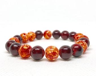 """Cranberry Bracelet, Size 7.5"""""""