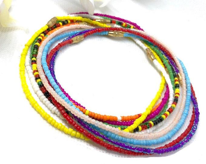 Featured listing image: Screw On Ankle Bracelet or Wrist Bracelet, Ankle Bracelets, Ankle Jewelry, Body Jewelry, Beaded Bracelets